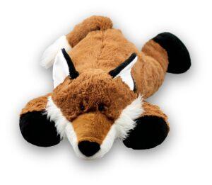 XXL Kuscheltier Fuchs 80 cm - Riesen Plüschtier Schmusetier Super Soft Plüsch