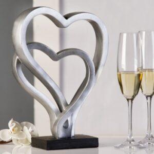 Skulptur Hearts - Herzen