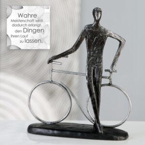 """Skulptur Fahrradfahrer """"Champion""""79186.jpg"""