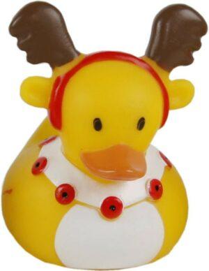 Weihnachts Elch Badeente Rentier - X-Mas Ente quietschend - Weihnachtsente