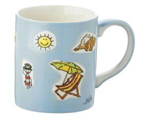 Mila Becher Summer Holiday - Kaffeebecher Sommerurlaub