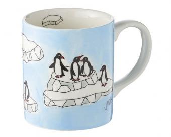 Pinguine Mila Becher Pinguin 280 ml - Tasse - Henkelbecher - Keramik