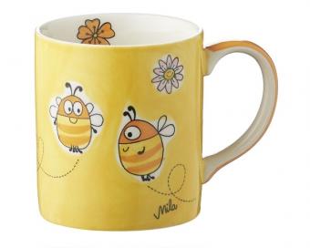 """Mila """"Summ Summ"""" Bienen Becher - Keramik - Kaffeebecher 280 ml"""