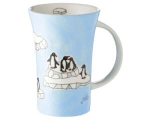 Pinguine Mila Coffee Pot Pinguin 500ml - Tasse - Henkelbecher - Keramik