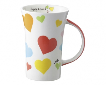 mila happy in love coffee pot 500 ml tasse henkelbecher keramik. Black Bedroom Furniture Sets. Home Design Ideas