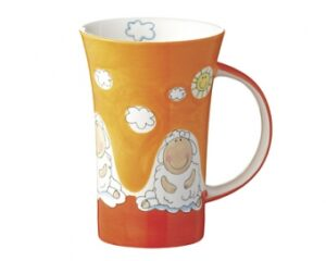 Mila Schaf Wolle & Bolle - Coffee Pot - 500 ml - Tasse - Schaf Becher