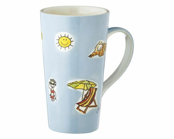 Mila Summer Holiday Caffee Latte - Sommerurlaub Becher
