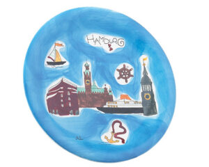 Mila Teller Hamburg - Keramik Geschirr Städtemotiv maritim