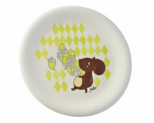 Mila Nick Nuss Teller - Keramik Teller Eichhörnchen 84082