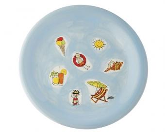 Mila Teller Summer Holiday - Geschirr - Keramik - Frühstücksteller - Kuchenteller