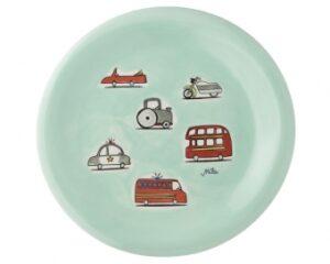 Cars Mila Teller - Geschirr - Keramik mit Autos und Feuerwehr