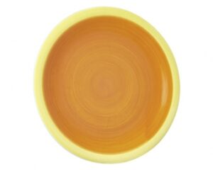Mila Teller United Colours orange/gelb - Essteller - Frühstücksteller - Kuchenteller 22cm