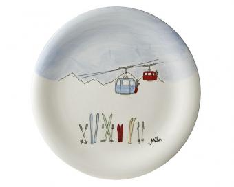 Ski Holiday Mila Wintersport Teller - Geschirr - Keramik Kinder Tell