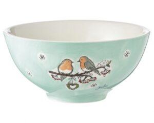 Mila Wintervögel Schale - Geschirr - Keramik mit Vogelmotiv