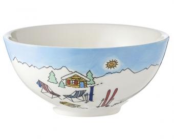 Ski Holiday II MilaSchaleWintersport– Müsli Schale – Eisschale – Suppenschüssel – Suppenschale – Naschschale