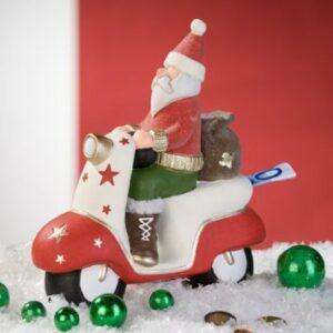 Spardose Santa Weihnachtsmann Nikolaus Roller Sparschwein Weihnachtsgeld
