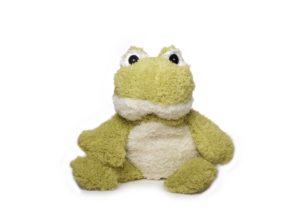 Wärmetier Frosch Plüschtier mit Wärmekissen zum Herausnehmen