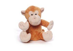 Affe Wärmetier Plüschtier mit Wärmekissen - Schimpanse Toto