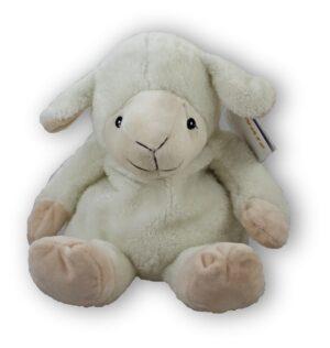 Wärmetier Schaf - Kuscheltier als Wärmekissen und Kältekissen - Plüschtier mit Körnerkissen zum Herausnehmen - Getreidefüllung Hirse oder Leinsamen mit Lavendel 8752 Warmies