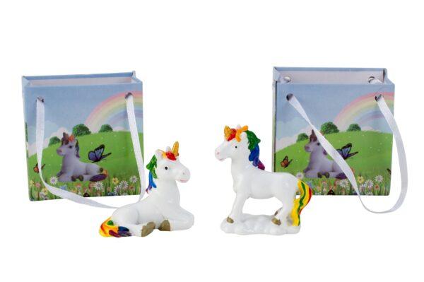 Geschenktüte Einhorn - Regenbogen Geschenktasche Luna