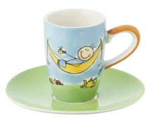Have a Break - Mila Espresso Tasse mit Untertasse - Keramik