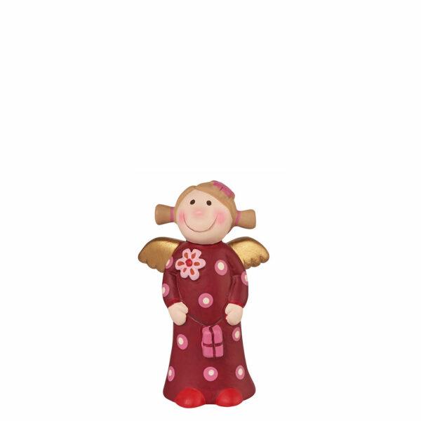 Himmlische Schwestern Minis Sammleredition Nr. 6 - mini Botschafter Engel in Geschenkschachtel - Keramik Schutzengel - Charakter Engel
