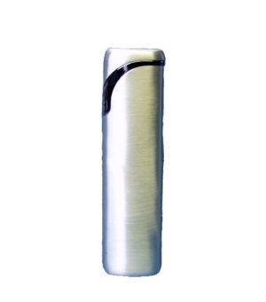 Feuerzeug in Geschenkbox - silber, in Metallbox - Gas Feuerzeug gefüllt