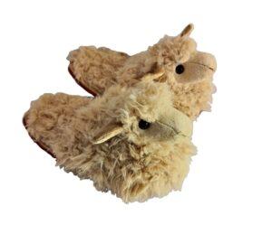 Hausschuhe Lama Slipper Tier Pantoffeln Latschen Slipper Plüsch