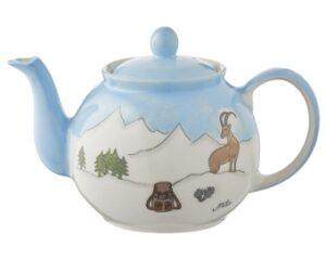 Mila Alpenblick Teekanne für Wanderer