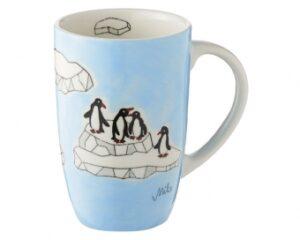 Pinguine Mila Designbecher Pinguin Becher 230 ml - Tasse - Henkelbecher - Keramik