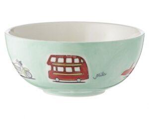 CarsMila Kinderschale - Schale - Keramik Geschirr mit Autos und Feuerwehr 96161