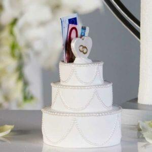 Spardose Hochzeitstorte - Sparschwein zur Hochzeit