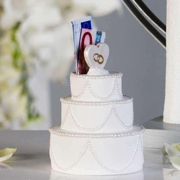 Spardose Hochzeitstorte Die Geschenidee Fur Geldgeschenke