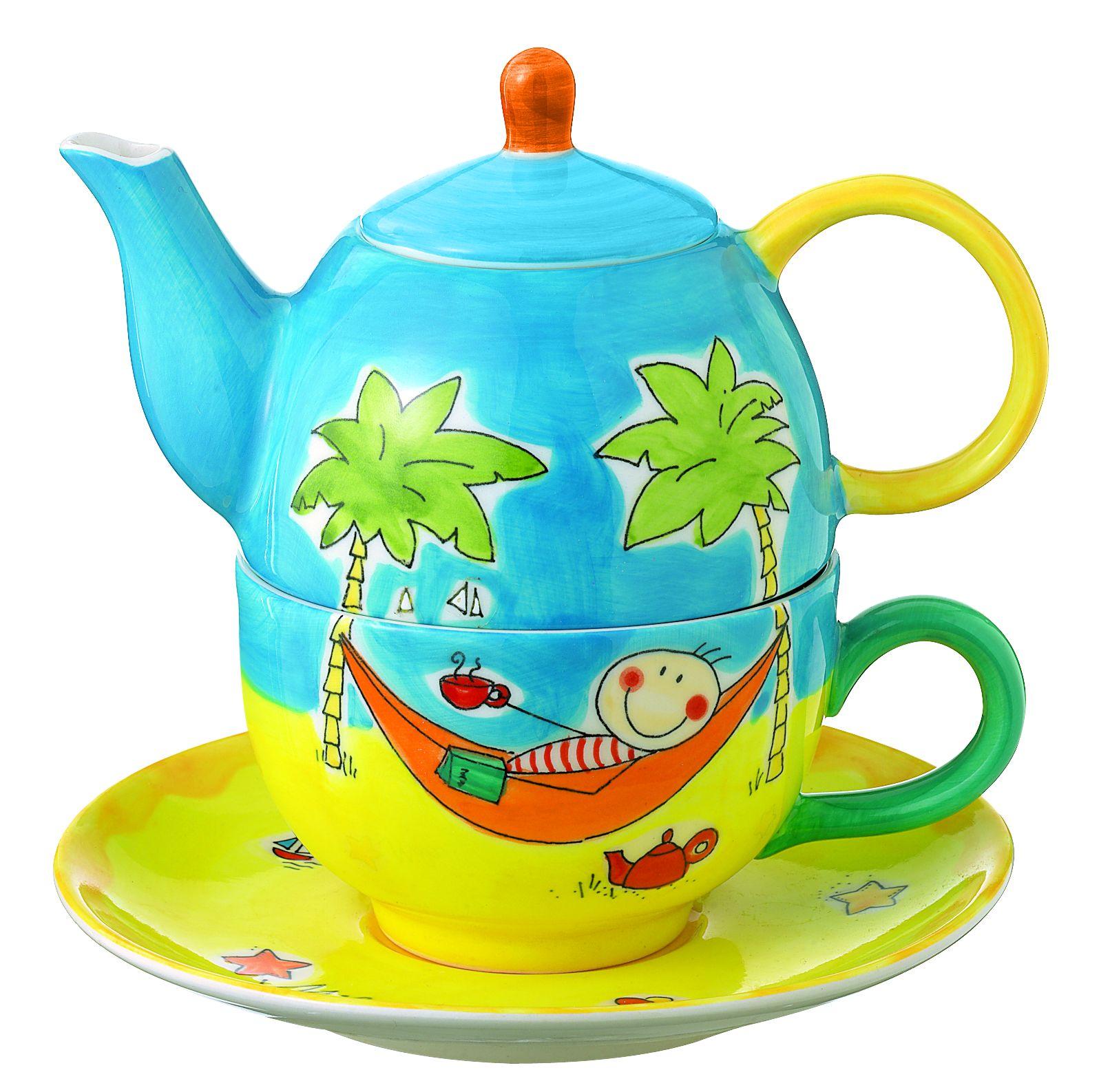 mila have a break tea for one teekanne 0 4 l mit tasse. Black Bedroom Furniture Sets. Home Design Ideas