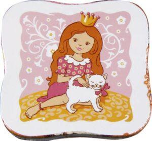 Magisches Handtuch - Zauberhandtuch Prinzessin mit Katze, Baumwolle 30 x 30 cm 992669.41_2