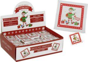 Magisches Handtuch Elfi - Zauberhandtuch Weihnachtswichtel Merry X-Mas
