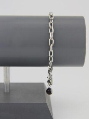 Ankerkette Armband – schlichtes silber Bettelarmband