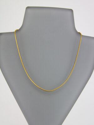 einfache goldene Ketten + Armbänder