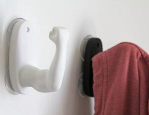 Armstrong Handtuchhalter mit Saugnapf für Küche Bad WC - Halterung .