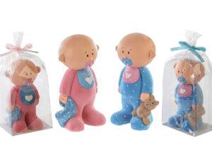 Baby Figur Baby Shower Mädchen oder Junge