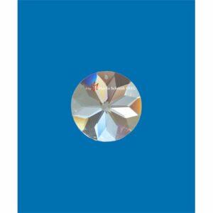 Bleikristall Prisma Kreis - Blütendiamant - Kristallkreis am Perlonfaden