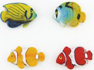 Bunter Fisch Magnet klein