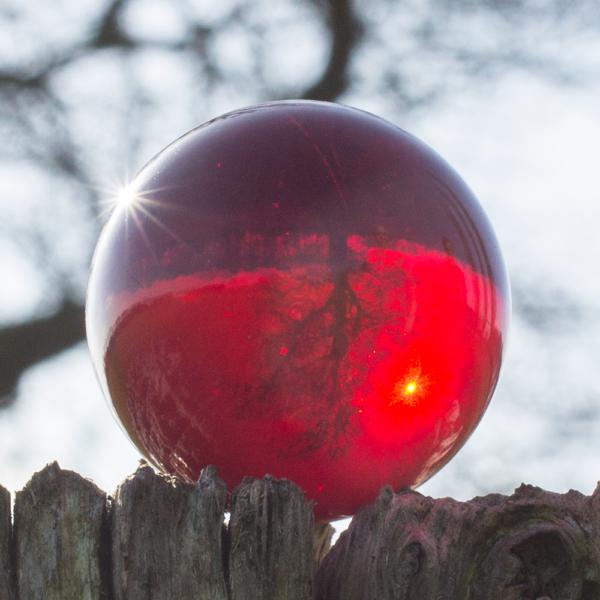 Foto Glaskugel - Kristallglaskugel Fotoqualität Ersatzkugel Orbit Windspiele