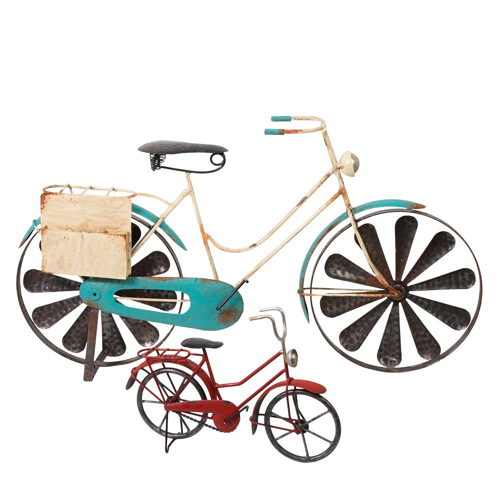 mini bicycle metall deko fahrrad retrooptik made in germany. Black Bedroom Furniture Sets. Home Design Ideas