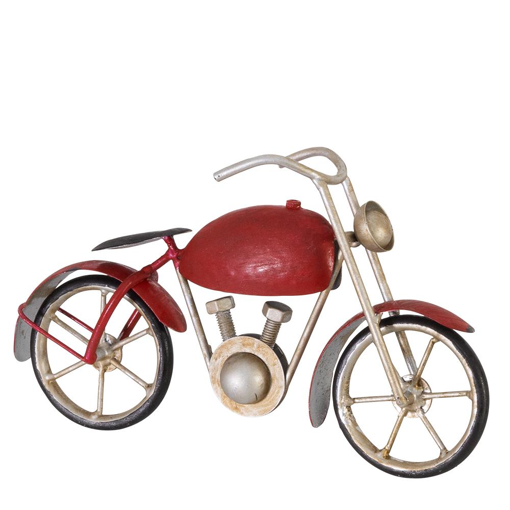 CIM Metall Windrad Motorcycle CHOPPER Antik-Effekt Gartenstecker Dekoration