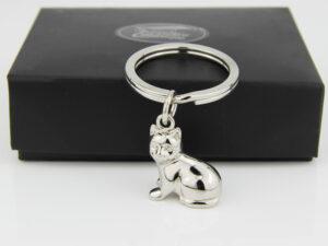 Casablanca Schlüsselanhänger Katze 40599