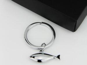Casablanca Schlüsselanhänger kleiner Fisch dezent Schlüsselanhänger 40783