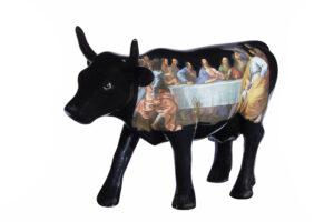 Cowparade Da Vinci - Das Abendmahl Leonardo da Vinci Kunstwerk Cowparade