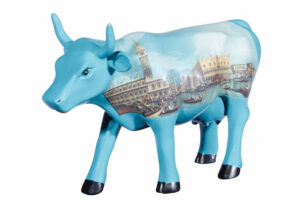 Cowparade Giovanni Antonio - Dogenpalast Canaletto Kunstwerk Cowparade