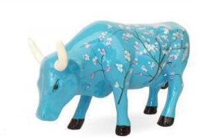 Cowparade Mandelblüte Vincent Van Gogh Kunstwerk Cowparade Collectables A 46601